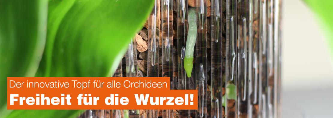 Der innovative Topf für alle Orchideen